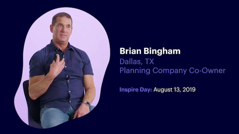 Planning Company Co-Owner Brian Bingham of Dallas Texas