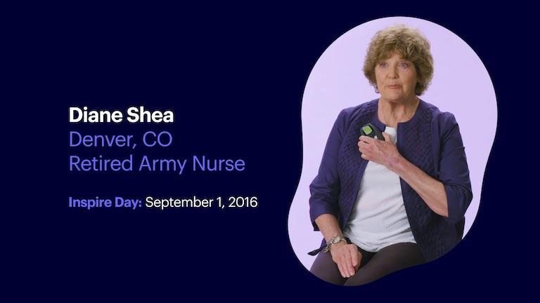 Retired Army Nurse Diane Shea of Denver Colorado