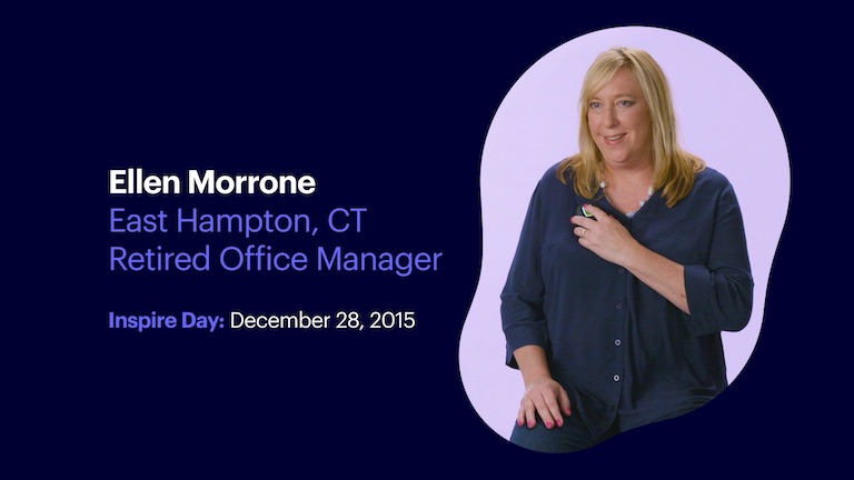 Retired Office Manager Ellen Morrone of East Hampton Connecticut