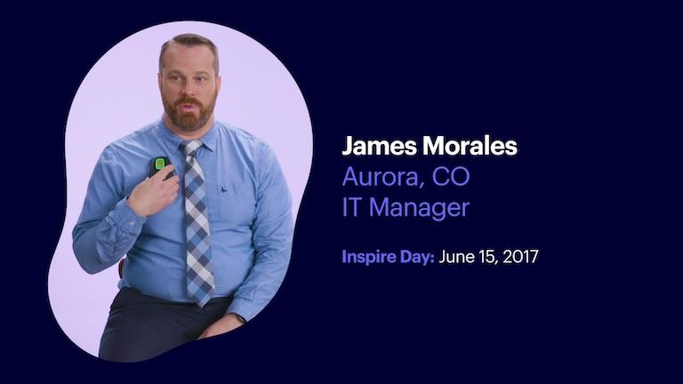 I. T. Manager James Morales of Aurora Colorado