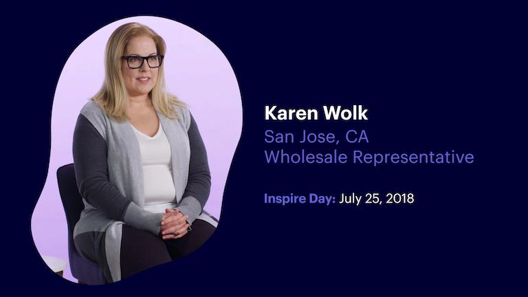 Wholesale Representative Karen Wolk of San Jose California