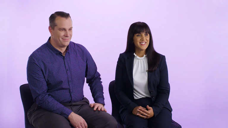 Couples discuss the impact of Inspire on their relationships in this video