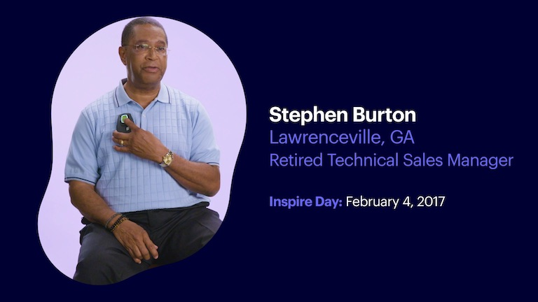 Retired Technical Sales Manager Stephen Burton of Lawrenceville Georgia